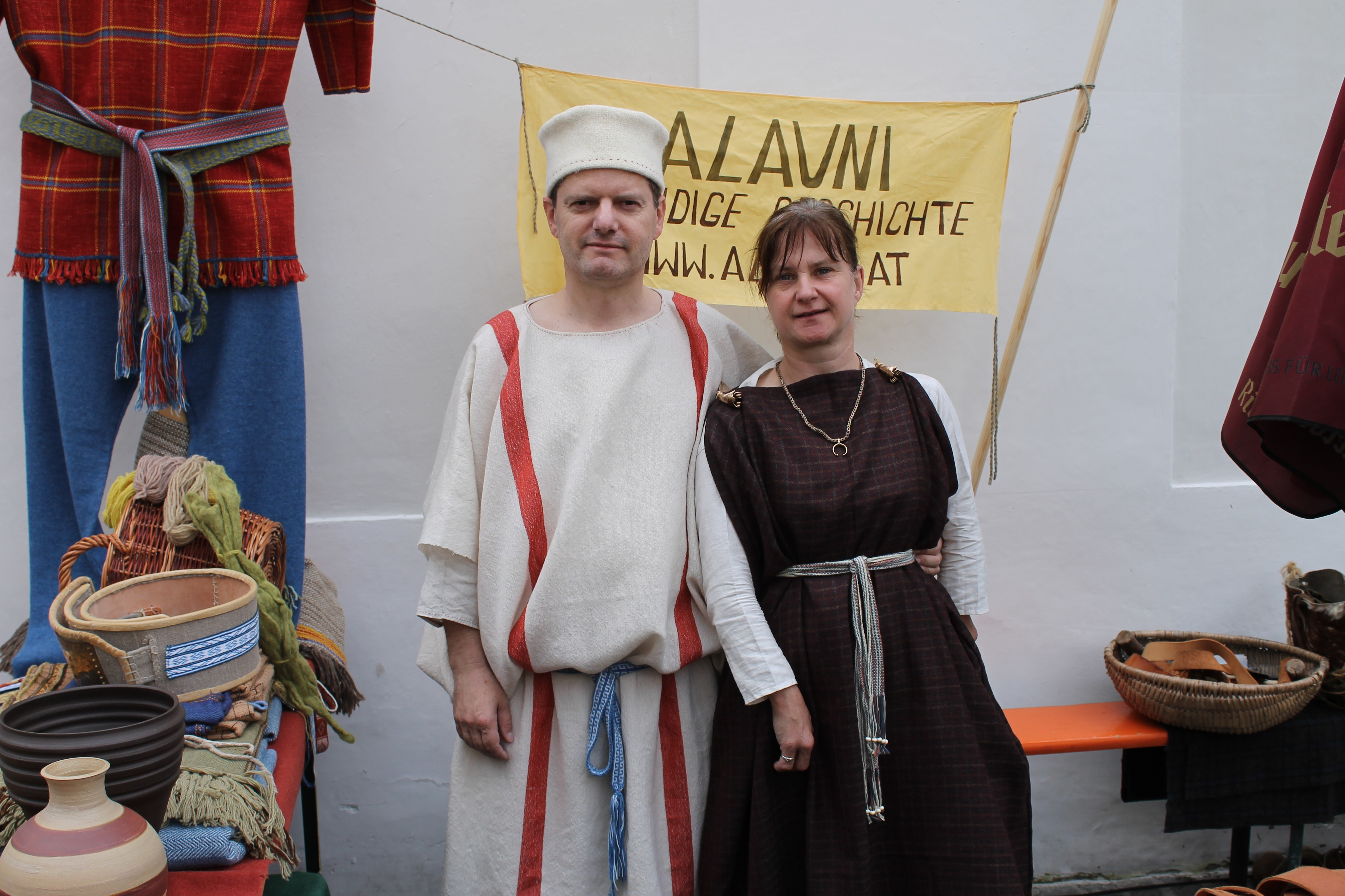 """Römerfest Wels 2015 – Auf den Spuren der Stadt """"Ovilava"""""""