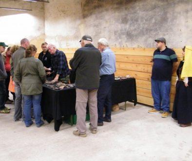 Heimatforscher Platzer zeigt seine Funde, Vilseck 2015