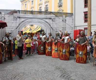 Eröffnung Römerfest Wels 2015